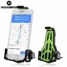 ROCKBROS Bicycle Handlebar Phone Stand Adjustable Cellphone Holder Bracket Green