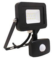 10W LED AC Driverless 120° PIR Motion Sensor Floodlight Slim IP65 Outdoor