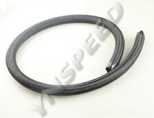 1 Foot 10AN AN-10 Nylon Cover Braided Fuel Oil Gas Line Hose 1500 PSI Black