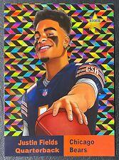 2021 NFL Draft Justin Fields Rookie Custom Card - Mint