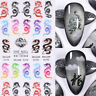 3D Nail Stickers Colorful Chinese Dragon Nail Art Decals DIY Tips Art Decorarion
