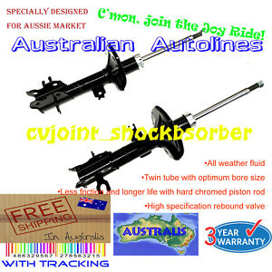 2 Brand New Struts Holden Barina TK All Style Front Shock Absorbers 12/05-10/11
