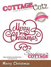 COTTAGE CUTZ ELITES DIES - Cutting die MERRY CHRISTMAS - CCE-179 *