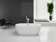 BW-IX028 170x80x58 cm Freistehende Badewanne aus Acryl Wanne mit Ab- / Überlauf