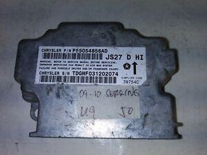 2009-2010 Chrysler Sebring airbag module P56054856AD Tested
