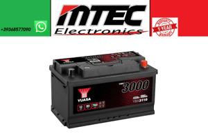 YBX3110 Batterla Start Auto YUASA 80Ah En 760A 12V Positiv Rechts 317X175X175