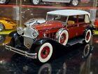 Signature Models 1930 Packard LeBaron 1:18 Scale Diecast Car 18115 Burgandy