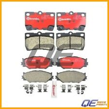 Lexus IS250 06-08 Set of Front and Rear Brembo Ceramic Disc Brake Pads