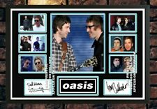 More details for (#350) noel & liam gallagher  oasis signed a4 photo//framed (reprint) @@@@@@@@@@