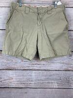 "Dickies Boyfriend Shorts Khaki 100% Cotton Inseam 6.5"" Women's Size 8"