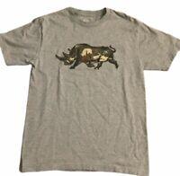 New Men's Ecko Unltd T-Shirt Rhino Camouflage Logo Gray Tshirt Sz M Medium Camo