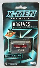 NEW  X-MEN ROGUE DOG TAG   AUTHENTIC COLLECTIBLE MARVEL  2000