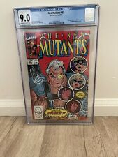 new mutants #87 cgc 9.0 First Appearance Of Cable.