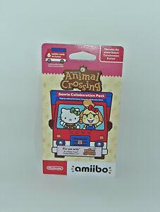 Nintendo Amiibo - Animal Crossing Sanrio Collaboration Pack - 6 Cards - NEW