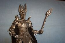 Lord Of The Rings Sauron With Weapon Action Figure Toybiz Missing Fingers