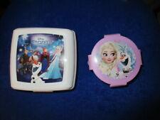 Lot 2 boîtes à goûter La Reine des Neiges