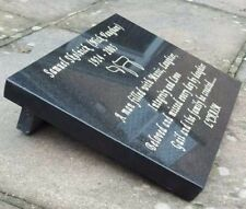 Cremation  Memorial Plaque Grave Stone Headstone Engraved High Quality