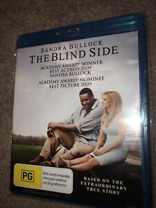 The Blind Side (Blu-ray, 2010) Sandra Bullock , Kathy Bates, Tim McGraw