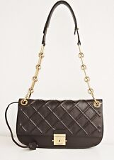 Michael Kors Collection Tasche/Bag Mia EW Shoulder COFFEE NEU!399€ statt 1259€