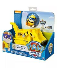 Paw Patrol Super Pup Rubble's Crane, Vehicle and Figure NEW