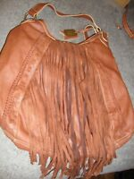 'NINE WEST VINTAGE AMERICA COLLECTION' Faux Leather Western Style Hobo Bag   302