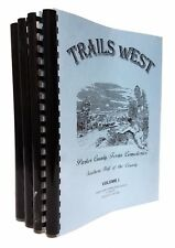 Trails West: Parker County, Texas Cemeteries - Four Volumes - Weatherford, 1998