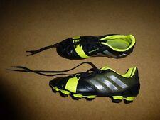 Boys Kids Adidas Nitrocharge 2.0 FG Black Moulded Studs Football Boots 12-6 UK
