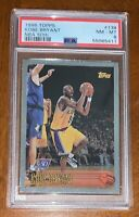 1996 TOPPS NBA 50TH KOBE BRYANT ROOKIE CARD #138 - PSA 8 NEAR MINT-SILVER FOIL