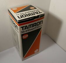EMPTY BOX for a TAMRON 35-210mm f3.5 - 4.2 SP ZOOM LENS 26a