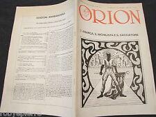 ORION RIVISTA periodico n 6 1988 45 maurizio murelli Kunst Entartete Nazismo