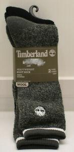Timberland Men's Heavyweight Boot Socks 2 Pairs New! NWT