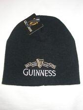 Guinness Guiness Black Beanie Cap Knit Hat Toque G6132