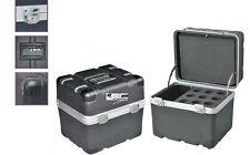 ABS Mikrofoncase für 9 Mikrofone wie zB. SM 58 Shure Mikrofon-Koffer MIC-Bag