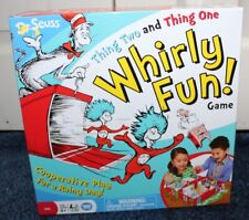 Dr. Seuss Thing Two and Thing One Whirly Fun! Board Game