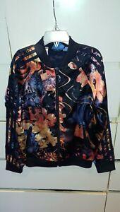 Adidas Girls Flower Jacket/ Zip Age 9-10