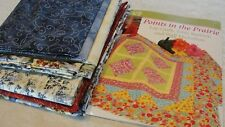 """POINTS IN THE PRAIRIE Lap Quilt Kit New Year's Collection Nancy's Notions 68x68"""""""