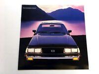 1982 Subaru Car Sales Brochure Catalog - GL GLF Hardtop Station Wagon 4wd