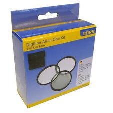Dörr Digiline All-in-One Kit 37mm UV Filter, Zirkular Polfilter, Nahlinse + Etui