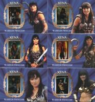 Xena Art & Images Lucy Lawless as Xena Gallery Chase Card Set