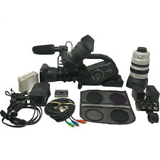 Canon Xl H1 Camcorder - Black (With Accessories)