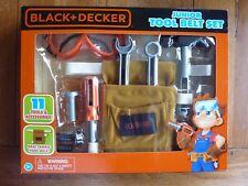 Black and Decker junior Tool Belt Set 14 piece