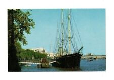 London - HMS Discovery, River Thames - Picture Postcard