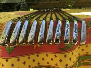 MacGregor VIP by Nicklaus Irons, 1-PW 10 club set, Classic Muscle Back Blades