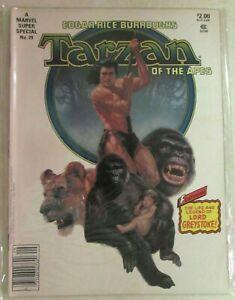 MARVEL SUPER SPECIAL MAGAZINE - # 29 - TARZAN OF THE APES  - MOVIE ADAPTATION