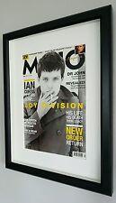 Joy Division/Ian Curtis Framed RARE Original-Certificate-Not a Print-