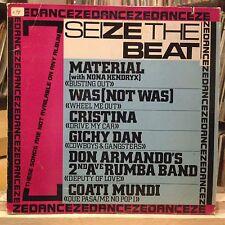 [SOUL]~[VARIOUS ARTISTS]~EXC LP~SEIZE THE BEAT (DANCE ZE DANCE)~[1981~ISLAND COM