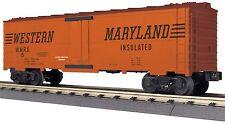 MTH 30-78177, O Gauge, Modern Reefer Car - Western Maryland #15