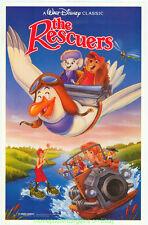 THE RESCUERS MOVIE POSTER 17x26 Inch ORIGINAL MINI-SHEET 1983 DISNEY ANIMATION