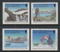 South Georgia - 1989, Combined Services Expedition set - MNH - SG 191/4