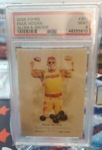 2006 Topps Allen & Ginter #307 Hulk Hogan PSA 9 MINT 🔥